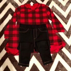 Flannel Long-sleeve Set